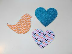 StickyTiger Craft Supplies DIY: Patterned and Printed Fridge Magnets Make Your Own, Make It Yourself, How To Make, Washi Tape, Craft Supplies, Magnets, Shapes, Printed, Simple
