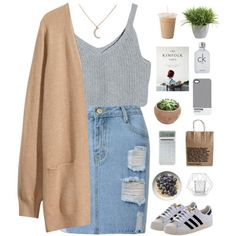 A fashion look from October 2015 featuring H&M cardigans, adidas Originals sneakers and Pantone tech accessories. Browse and shop related looks.