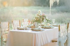 Whimsical Southern Spanish Moss Wedding Inspiration