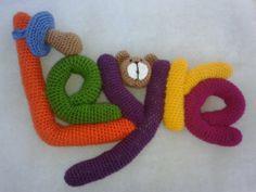 Nombre de crochet. Leire http://klartkraft.wordpress.com/