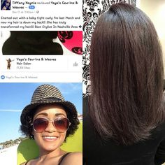 Client review!!! She started with me March 2015! She is comes ever 2-3 weeks!! Ladies consistency is Key!! Healthy Hair is the goal!! For booking go to iammiyanarose.com #nashvillehair #nashvillehairstylist #MemphisHairStylist #healthyhair #naturalhair #http://www.jennisonbeautysupply.com/  ,#hairinspo #longhair #hairextensions #clipinhairextensions #humanhair #hairideas #hairstyles #extensions #prettyhair  #clipinhairextensions #hairextensions #longhairgoals #hairextensionsspecialist…