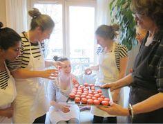 paris breakfasts: Macaron Class - Chef Marthe