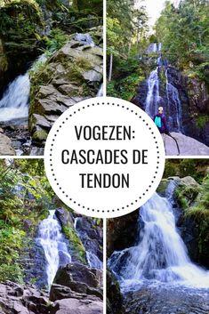 Watervallen in de Vogezen: Cascades de Tendon - Passie voor Frankrijk Secret Escapes, Camper, I Coming Home, European History, Travel Inspiration, Road Trip, Places To Visit, Wanderlust, Vacation