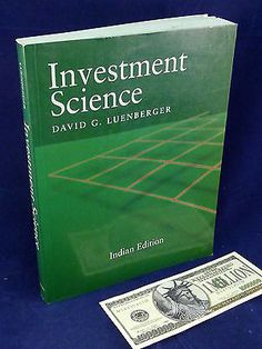 David Luenberger Book Investment Science Oxford University Press Books:Textbooks, Education www.internetauctionservicesllc.com $12.99