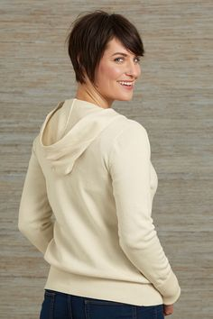 Organic Fair Trade Hoodie Sweater - Sweaters - Women