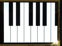 piano drawings black white - Google Search