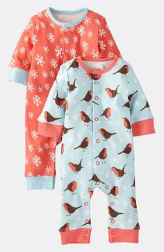 Mini Boden Coveralls (2-Pack) (Infant) available at Nordstrom