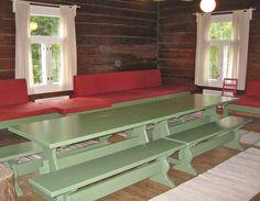 pirttikalusto - Google-haku Entryway Tables, Google, Furniture, Home Decor, Decoration Home, Room Decor, Home Furnishings, Home Interior Design, Home Decoration