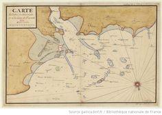 Carte de l'entrée de Saint-Malo et de la rivière de Dinand