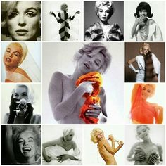 """Marilyn Monroe in """"The Last Sitting"""" for Vogue magazine, by Bert Stern 1962."""