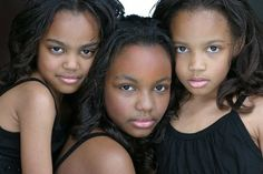 The McClain Sisters. From Daddy's Little Girls- Chyna McClain played Jasmine on House of Payne (tv show) Sierra Mcclain, Love My Sister, Sister Sister, Celebrity Siblings, Celebrity Pics, Daddys Little Girls, My Black Is Beautiful, Pretty Black, Black Families