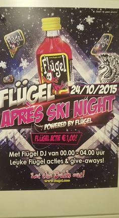 Flugel Apres Ski Party, 24 oktober bij Cafe bar het Zwaantje. http://koopplein.nl/middendrenthe/2061823/flugel-apres-ski-party-24-oktober-bij-het-zwaantje.html