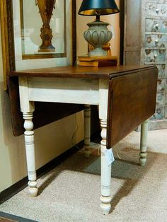 Drop leaf table with Illusions Faux finish