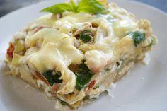 White Chicken and Veggie Lasagna
