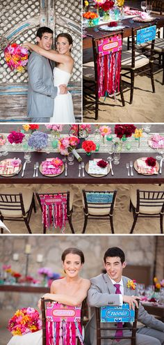 bright colorful mexico destination wedding 2, real weddings ideas and trends