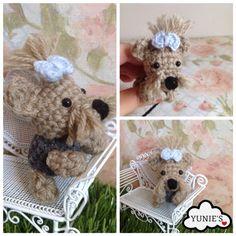 Crochet dog pattern : Amigurumi Terrier by Yunies on Etsy