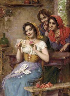 Gaetano Bellei ~ Academic painter