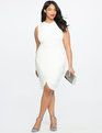 Draped Jersey Dress | Women's Plus Size Dresses | ELOQUII