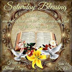 Saturday Blessings!!!