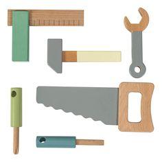 Sebra 6 Werkzeugteile aus Holz-product