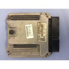 Centralita Bosch 8E0 907 401AL 0281012917 para Audi. #centralitas #audi #bosch