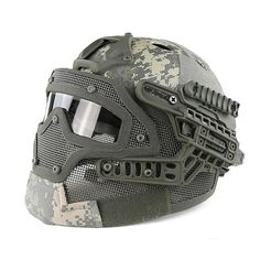 2016 Tactical Helmets G4 SystemPj Helmet + Overall Protection Glass Mask / Mc…