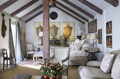 The neutrals having a calming effect, what do you think?