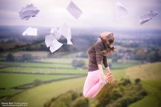 The Freedom in Music - Jump #9 of #100 by Olivia Bell, via Flickr