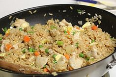 Chicken Fried Rice..   I love making this..