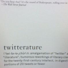 Twitter literature?
