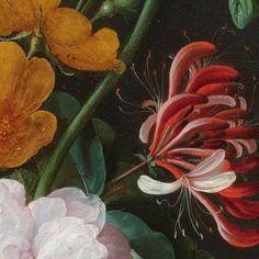Stilleven met bloemen in een glazen vaas, Jan Davidsz. de Heem, 1650 - 1683 - bloemen-Verzameld werk van Marie-Claire Medenblik - Alle Rijksstudio's - Rijksstudio - Rijksmuseum