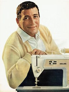1966 Advertisement 2 Page Tony Bennett Singer Sewing Machines Presents ABC TV Special Golden Touch Sew Craft Room Celebrity Wall Art Decor Tony Bennett, Great Ads, Print Magazine, Vintage Magazines, Sewing Machines, Trending Outfits, Dancers, Comedians, Art Decor