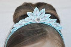 Head Hand Girls Crown Birthday Crown Girls by JuliesCreations1                                                                                                                                                                                 More