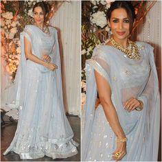 "afashionistasdiaries: ""@malaikaarorakhanofficial  Outfit - @anitadongre  #bollywood #style #fashion #beauty #bollywoodstyle #bollywoodfashion #indianfashion #celebstyle #malaikaarorakhan #anitadongre"""