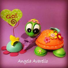 Tutorial, PDF, cartamodelli, tartaruga, gomma crepla, fommy, by Angela Avarello Creazioni, 4,00 € su misshobby.com