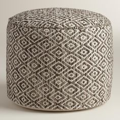 This comfy cushion is ideal for distinguishing small spaces or adding an extra seat for guests without taking up too much floor space. >> #WorldMarket Living Room Decor, Home Decor, Tips