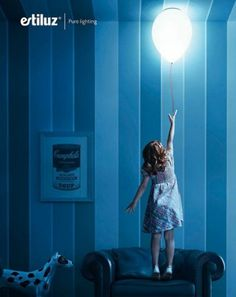 I know a few kids who might love a balloon light in their room.  Do you?