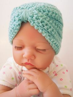 Baby Turban Crochet Pattern ff2b6027c717
