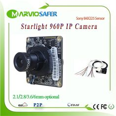 23.56$  Watch here - http://aliukt.shopchina.info/go.php?t=32803758710 - 2.8/3.6/6/8mm Lens 960P HD 1.3MP Starlight IP camera Network  Module Colorful Night Vision Sony IMX225 Sensor CCTV IPCAM Board 23.56$ #buychinaproducts