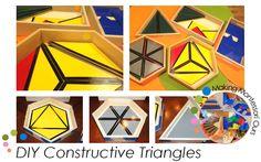 """""""Making Montessori Ours"""": Make Your Own Montessori Constructive Triangles"""