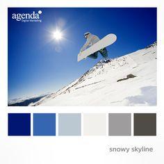 Colour Palette: Snowy Skyline