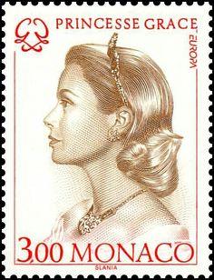 Princess Grace Postage Stamp