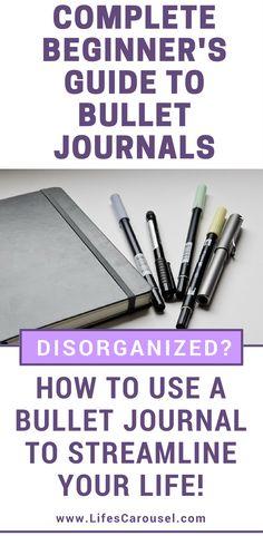 Beginner's Guide to Starting a Bullet Journal