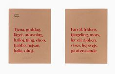 Swedish studio Bedow create stylish identity for Essem Design