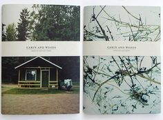 cabin & woods. invite idea... photo background on cvr, booklet or card w/belly band ;)
