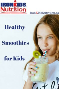 Healthy Smoothies for Kids Healthy Smoothies For Kids, Healthy Breakfast For Kids, Smoothie Recipes For Kids, Good Smoothies, Fruit Smoothies, Healthy Kids, Breakfast Ideas, Healthy Food, Nutrition Quotes