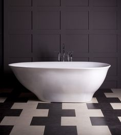 bathroom-unique-white-vintage-bathtub-with-fancy-brown-pattern-bathroom-pattern-and-chic-floor-tiles-bathrooms-with-freestanding-tubs