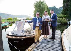 """Romantisches Seepicknick im majestätischen E-Boot """"Franzl"""" Rowing Scull, Tourism, Destinations, Viajes"""