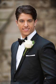 Gorgeous Grooms. Romantic Wedding Photography. Craig Photography. www.craig-photography.com