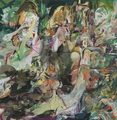 """'Blonde Eating Birds"""" (2011-12) by Cecily Brown"""